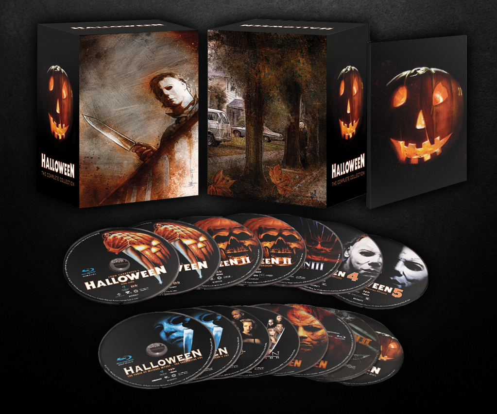 Order Now - Halloween: The Complete Collection Limited Deluxe Edition